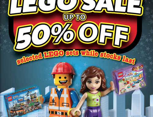 Art & Hobby Have 50% off LEGO