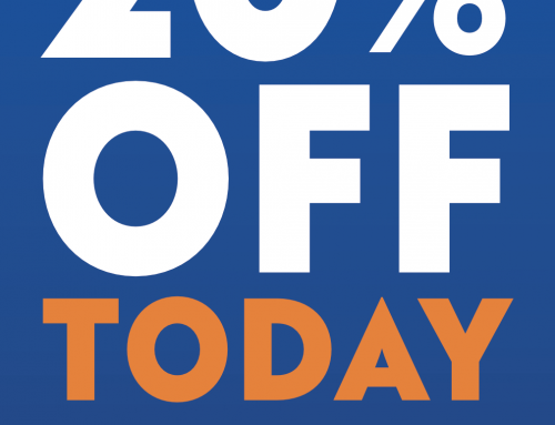 20% discount in Tailor of Blue TODAY